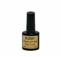 "Top Coat ""BLUESKY"" без липк.сл. (малина,клубника и т.д.)10 мл"