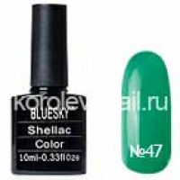 "Гель-лак ""BLUESKY"" shellac 10 мл №47"