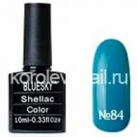 "Гель-лак ""BLUESKY"" shellac 10 мл №84"