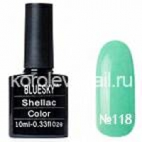 "Гель-лак ""BLUESKY"" shellac 10 мл №118"